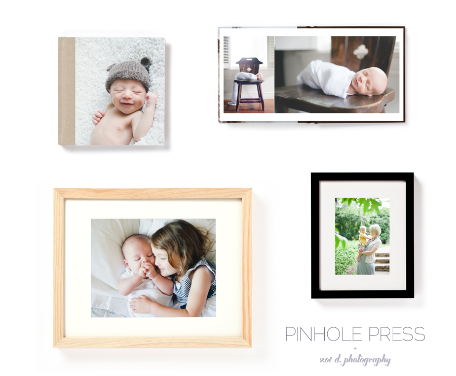 pinhole press products for your photography digital files